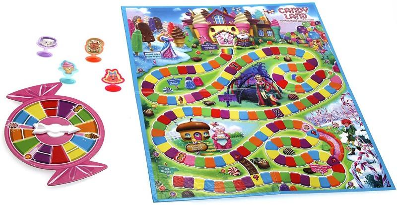Trò chơi Candy land mang đến sự ngọt ngào từ những viên kẹo nhiều màu sắc