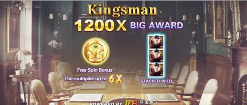 Trò chơi Kingsman có mức độ uy tín hàng đầu thế giới